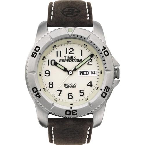 Timex Celokovové pánské s bílým ciferníkem. t46681 (Timex f569ae3f7c