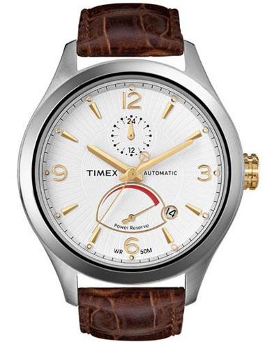 Timex Pánské hodinky Automatic¨s indikátorem síly baterie cfca809ba9